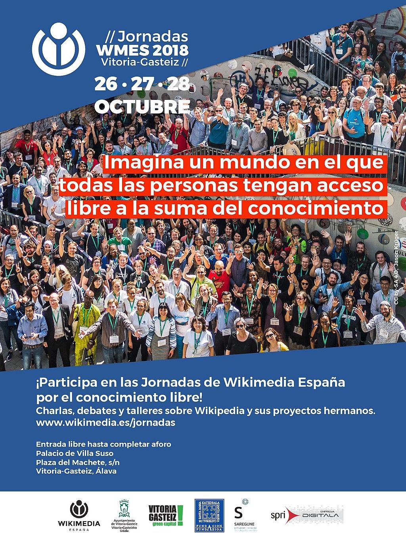 Cartel Jornadas WMES 2018