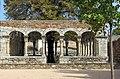 341 Claustre de Sant Domènec (Peralada), galeria oest.JPG