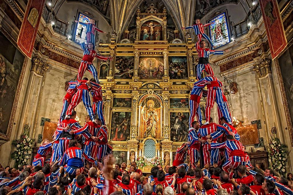 Dos Altas, en el Altar Mayor