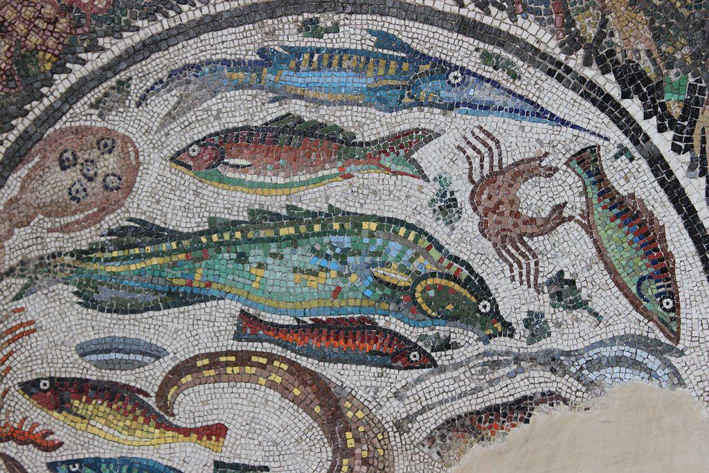 Mosaico peces Toledo 04