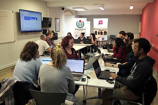 Charlas sobre Wikipedia en Valladolid 2