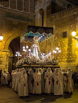 SEMANA SANTA DE TERUEL Hermandad de Jesús Atado a la Columna 1075