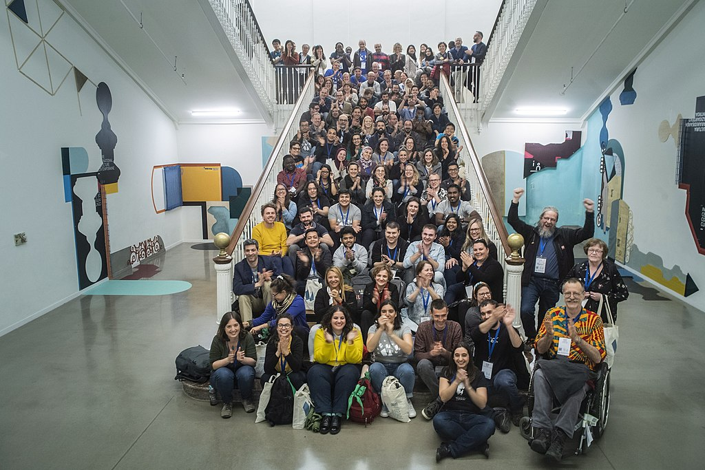 Wikimedia+Education Conference 2019 group photo 03