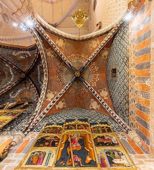 Iglesia de San Félix, Torralba de Ribota, Zaragoza, España, 2018-04-04, DD 57-59 HDR