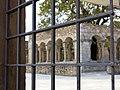 355 Claustre de Sant Domènec (Peralada), des del c. de l'Oli.JPG